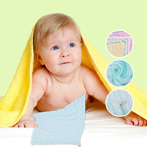 Face Towel Dream Meaning: UMLIFE Baby Muslin Washcloths And Towels Super Soft