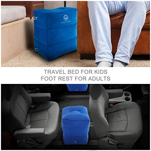 Bonair Outfitters Airplane Travel Bed For Kids Inflatable