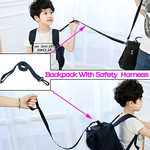 Toddler Kid Child Backpack with Safety Harness Leash ...