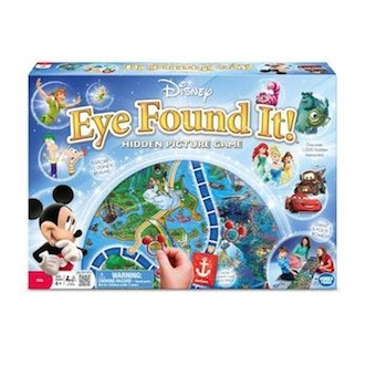 Disney Eye Found it board game box image