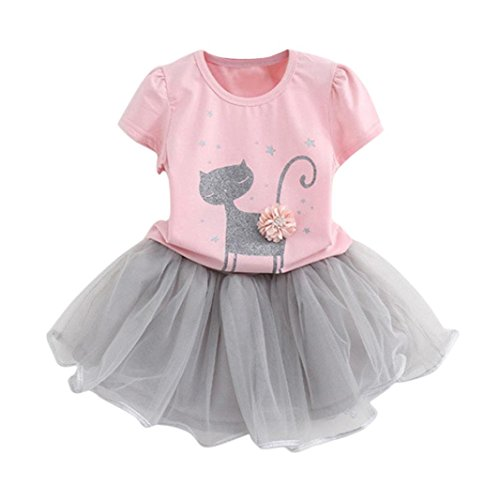 iEFiEL Toddler Baby Girls Skirt Outfit Long Sleeves Embroidered Floral Denim Shirt Tops With Dress Sets