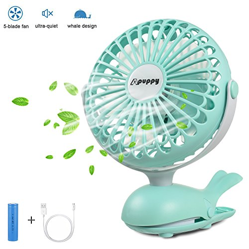 BATTERY OPERATED FAN 5 Blade Camping